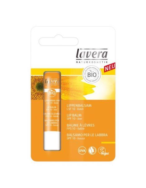 Bálsamo Labial Protector SPF 10 Lavera - 4.5 gramos
