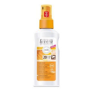 Spray Solar SPF 20 Lavera - 125 ml.