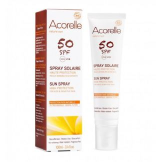 Spray Solar SPF 50 Acorelle - 100 ml.