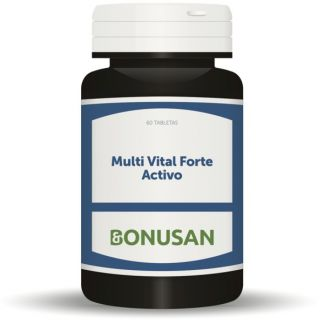 Multi Vital Forte Activo Bonusan - 60 tabletas