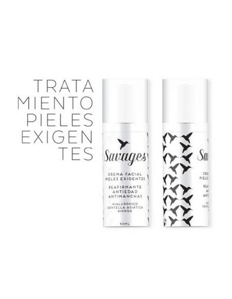 Crema Facial Pieles Exigentes Antiedad Savages - 50 ml.