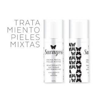 Crema Facial Pieles Mixtas Antiedad Savages - 50 ml.
