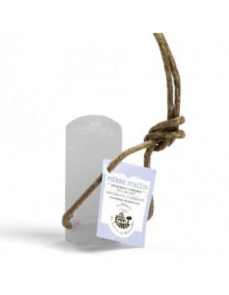 Stick Piedra Alumbre con Cuerda - 120 gramos