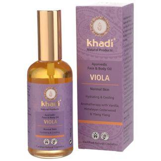 Aceite de Violeta Pieles Normales Khadi - 100 ml.