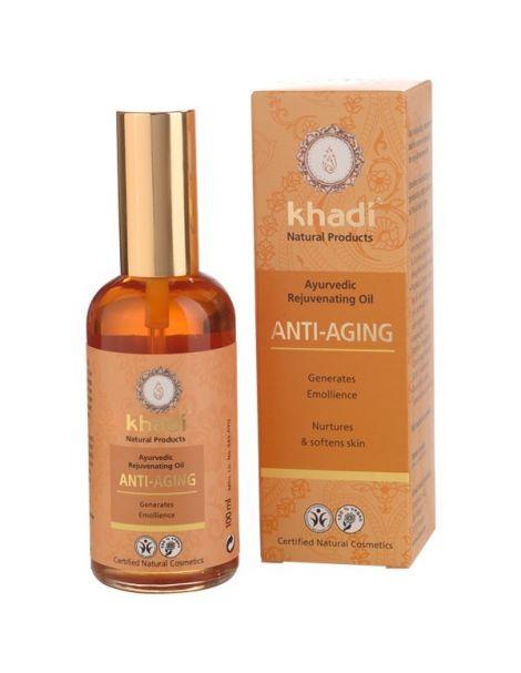Aceite Anti-Edad Khadi - 100 ml.