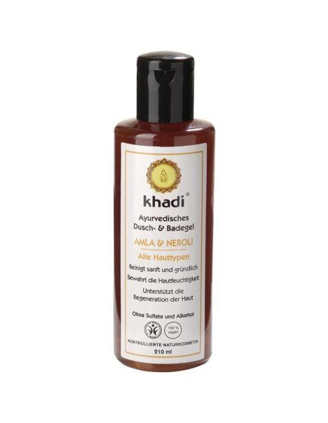 Gel de Baño Amla y Azahar Khadi - 210 ml.