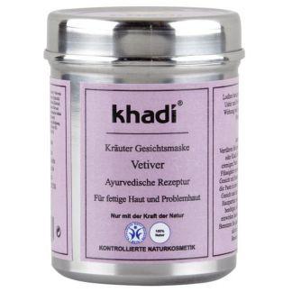 Mascarilla Vetiver Pieles Grasas Khadi - 50 gramos