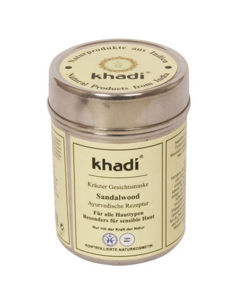 Mascarilla Sándalo Antimanchas Khadi - 50 gramos
