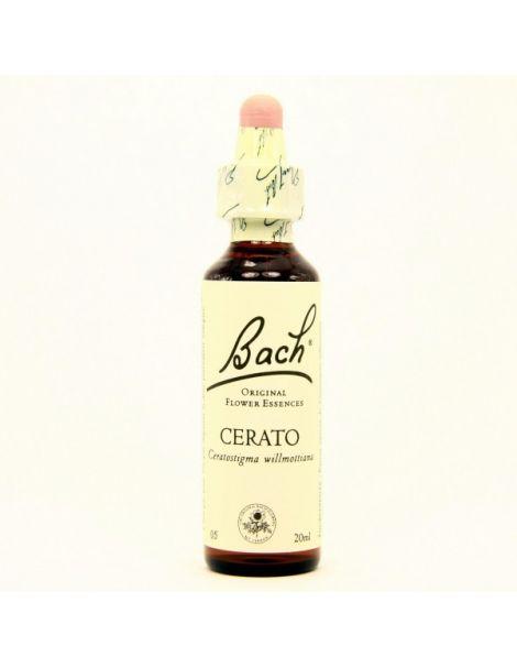 Cerato/Ceratostigma Flores Dr. Bach - frasco de 20 ml.