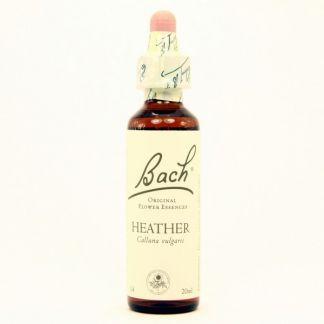 Heather/Brezo Flores Dr. Bach - frasco de 20 ml.