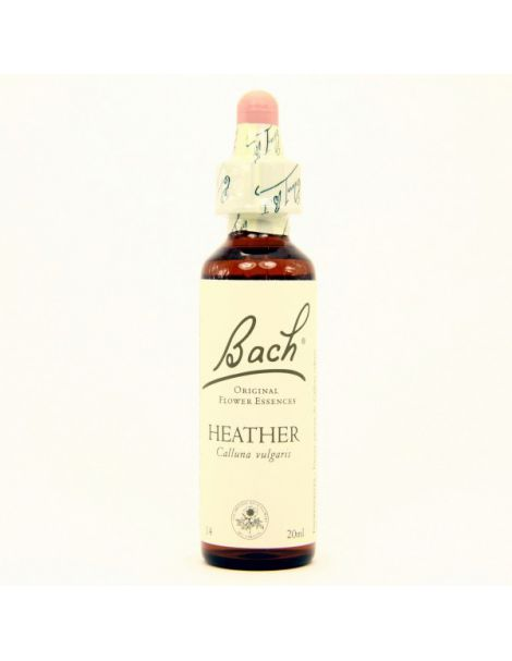 Heather/Brezo Flores Dr. Bach - frasco de 20 ml.
