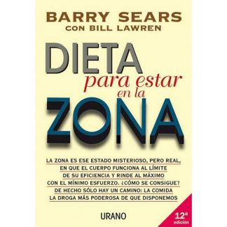 Libro: Dieta para Estar en la Zona