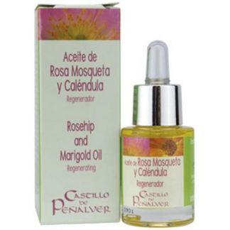 Aceite de Rosa Mosqueta y Caléndula Castillo de Peñalver - 15 ml.