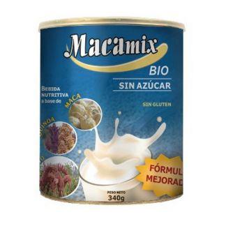 MacaMix sin Azúcar Bio en Polvo Inkanat - 340 gramos