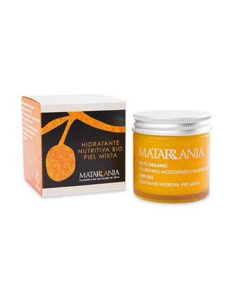 Hidratante Nutritiva Piel Mixta Bio Matarrania - 60 ml.