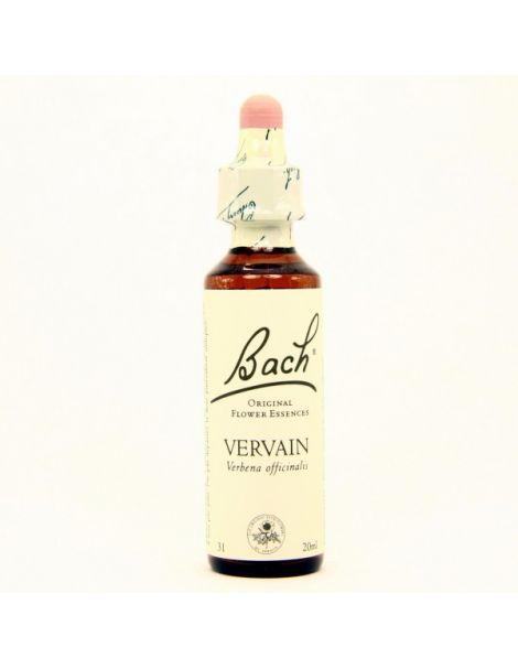 Vervain/Verbena Flores Dr. Bach - frasco de 20 ml.