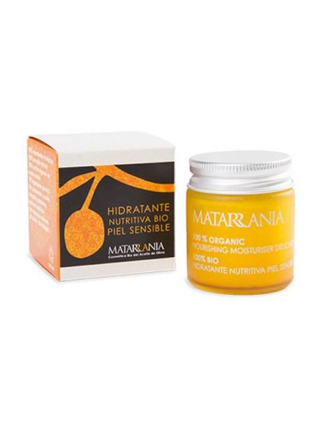 Hidratante Nutritiva Piel Sensible Bio Matarrania - 30 ml.
