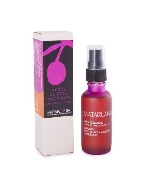 Aceite de Rosa Mosqueta Enriquecido Bio Matarrania - 30 ml.