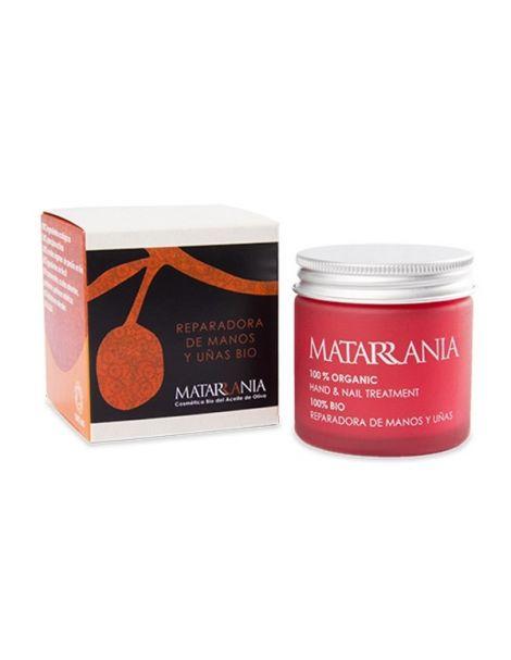 Crema Reparadora de Manos y Uñas Bio Matarrania - 60 ml.