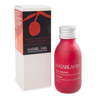 Aceite Hidratante Corporal de Limón, Naranja y Mandarina Bio Matarrania - 100 ml.