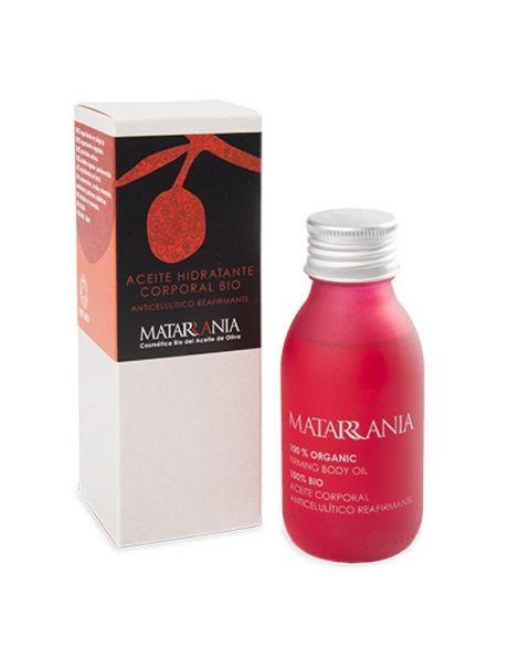 Aceite Corporal Anticelulítico y Reafirmante Bio Matarrania - 100 ml.