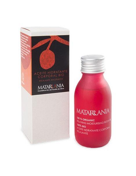 Aceite Corporal Relajante y Balsámico Bio Matarrania - 100 ml.