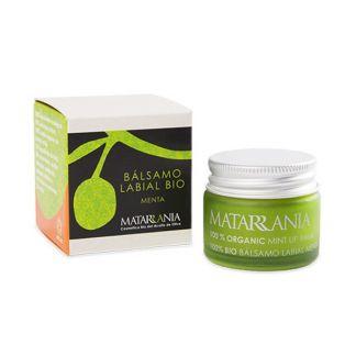 Bálsamo Labial de Menta Bio Matarrania - 15 ml.