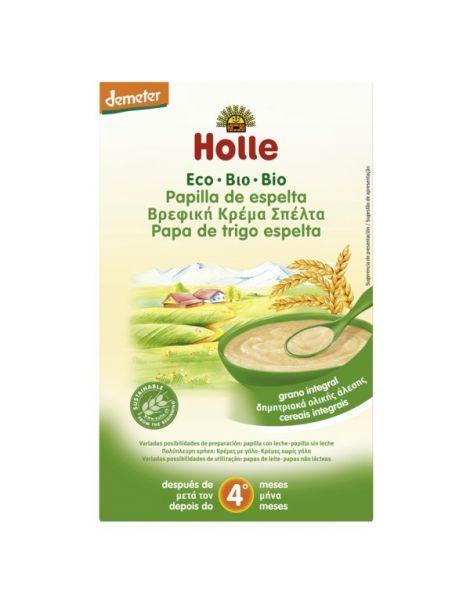 Papillas de Espelta Bio 4M Holle - 250 gramos