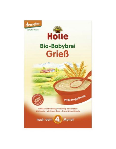 Papillas de Sémola de Trigo Bio 4M Holle - 250 gramos