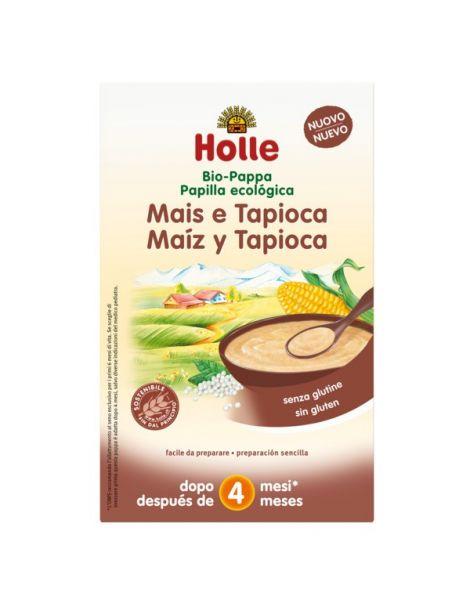 Papillas de Harina de Maíz y Tapioca Bio 4M Holle - 250 gramos