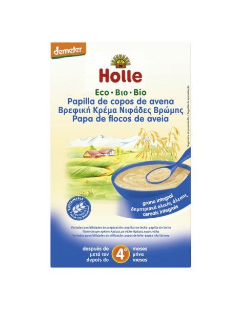 Papillas de Copos de Avena Bio 4M Holle - 250 gramos