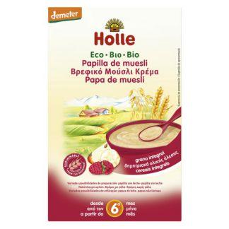Papillas de Muesli Bio 6M Holle - 250 gramos