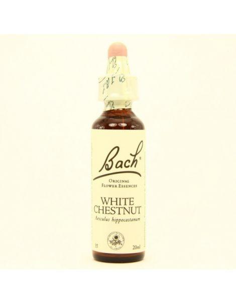 White Chestnut/Castaño de Indias Flores Dr. Bach - frasco de 20 ml.