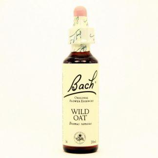 Wild Oat/Avena Silvestre de Indias Dr. Bach - frasco de 20 ml.