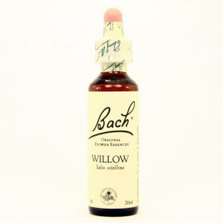 Willow/Sauce Flores Dr. Bach - frasco de 20 ml.