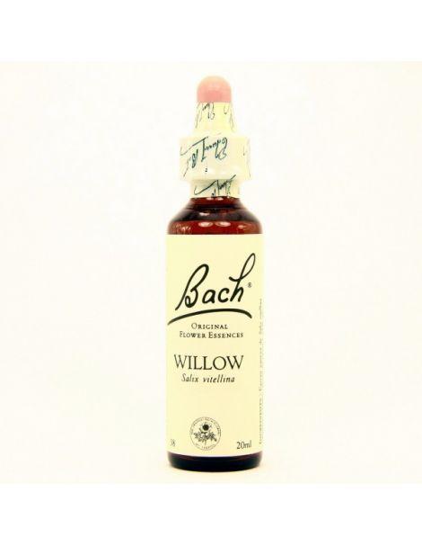 Willow/Sauce Flores Dr. Bach - frasco de 20 ml.