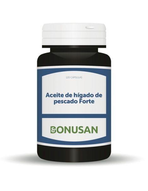 Aceite de Hígado de Pescado Forte MSC Bonusan - 120 perlas