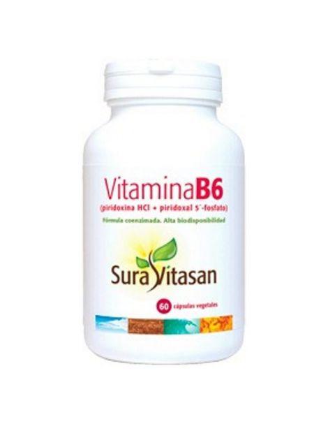 Vitamina B6 Sura Vitasan - 60 cápsulas