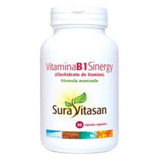 Vitamina B1 Sinergy Sura Vitasan - 90 cápsulas