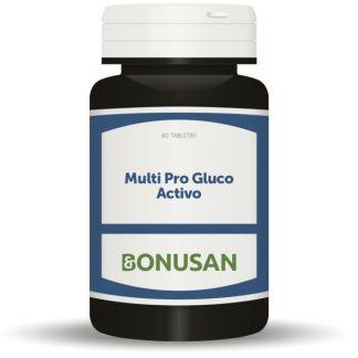 Multi Pro Gluco Activo Bonusan - 60 tabletas