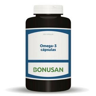 Omega-3 Cápsulas Bonusan - 200 cápsulas