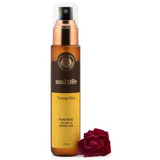 Tónico Facial de Rosas SoulTree - 75 ml.
