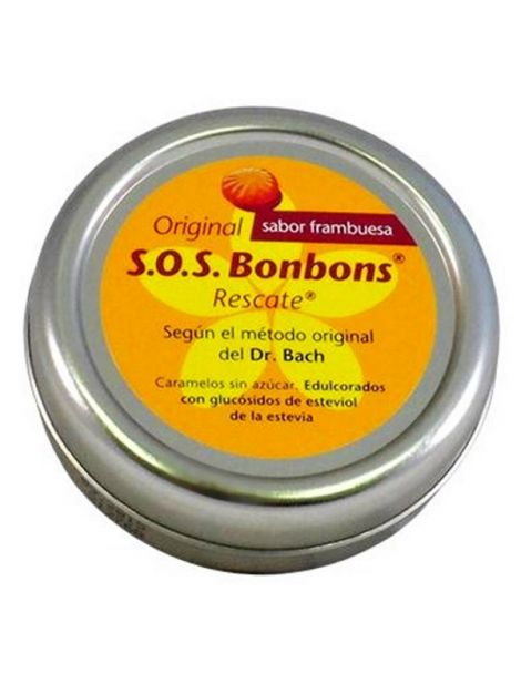 S.O.S Bonbons Rescate (Rescue Remedy) Dr. Bach - 38 caramelos