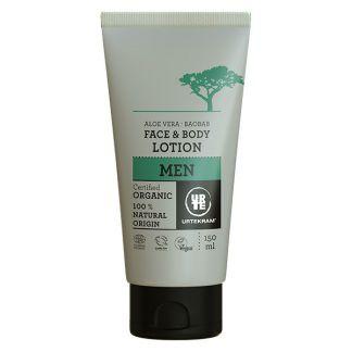 Loción Facial y Corporal Aloe Vera y Baobab Men Urtekram - 150 ml.
