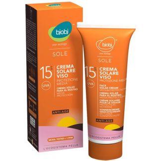 Crema Solar Facial SPF 15 Bjobj - 125 ml.