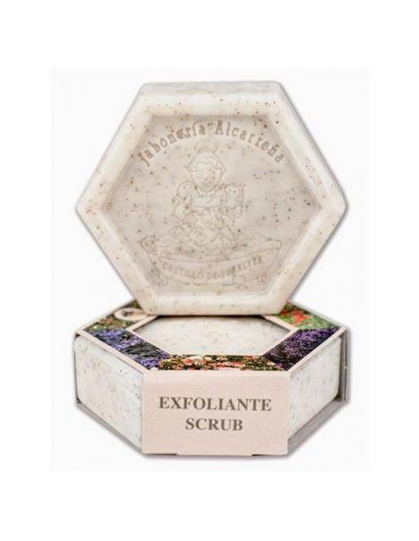 Jabón del Apicultor Hexagonal Exfoliante de Miel y Leche Castillo de Peñalver - 100 gramos