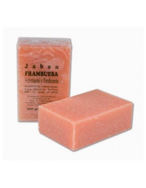 Jabón de Frambuesa y Fresa Castillo de Peñalver - 100 gramos