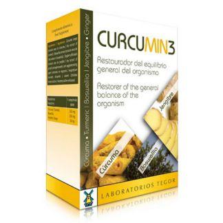 Curcumin 3 Tegor - 30 comprimidos