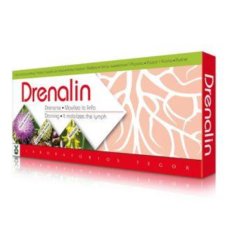 Drenalin Tegor - 10 viales