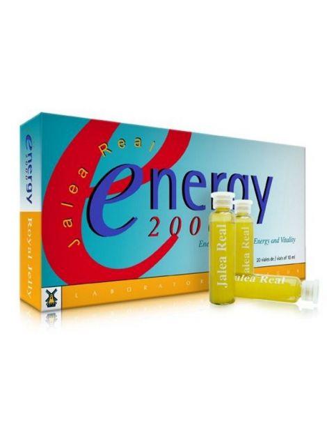 Jalea Real Energy 2000 Tegor - 20 viales